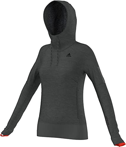 Adidas Sweat à capuche pour femme Beyond the Run Clima Heat