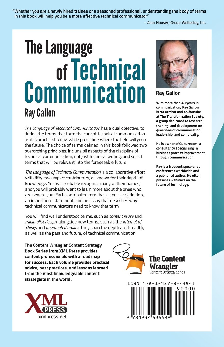The Language of Technical Communication by XML Press