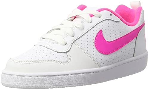 meet 48546 c5fa8 Nike Court Borough Low (GS), Scarpe da Basket Donna, Bianco (White
