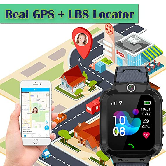 GPS Niños Impermeable Smartwatch, Reloj Inteligente Smart Watch ...