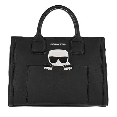 Pour Taille Unique Femme Sac À Main Noir Lagerfeld Karl IRH6BB