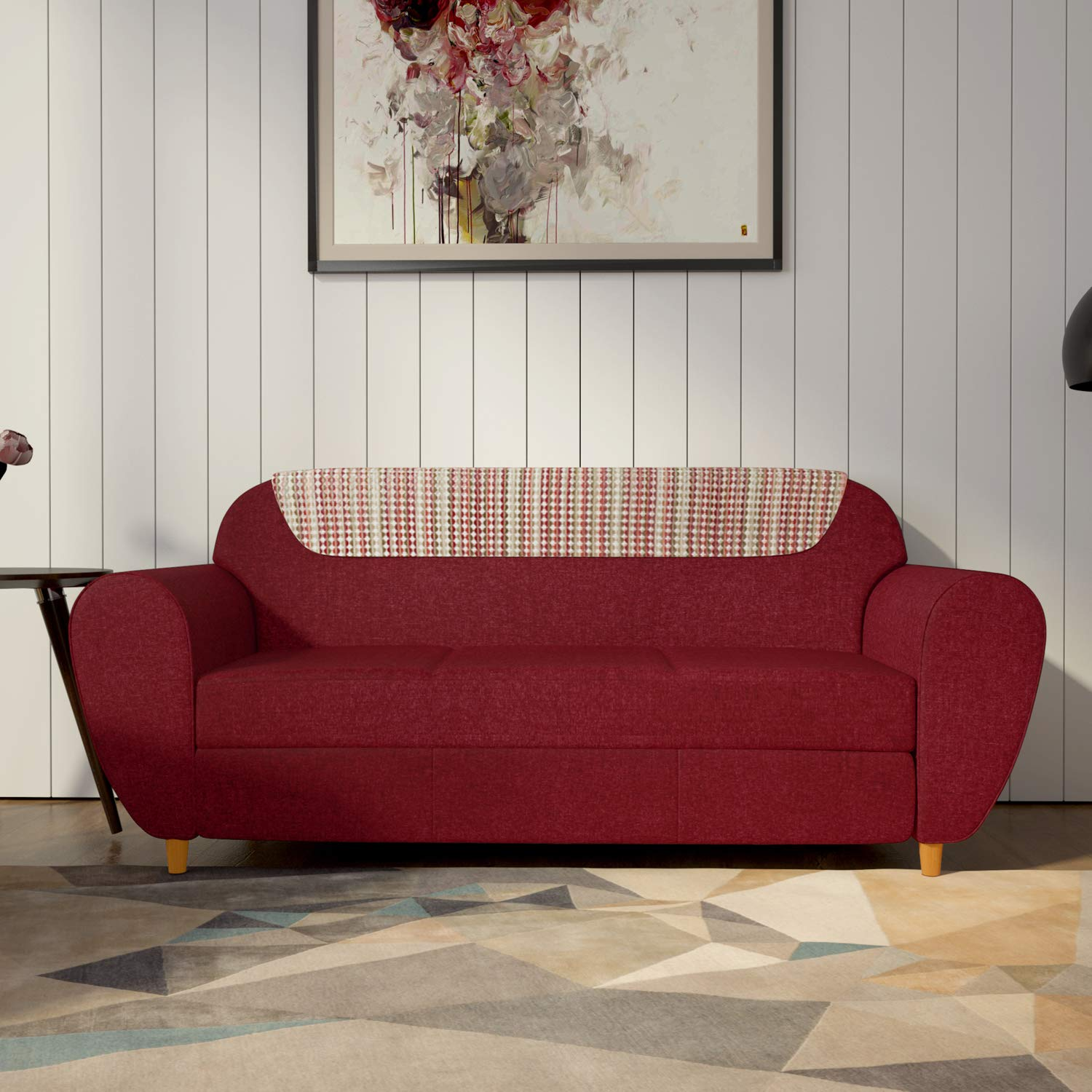 Godrej Interio Petal Three Seater Sectional Sofa Indian Red Amazon In Electronics Buy sofas & recliners online or at godrej interio at best prices. godrej interio petal three seater