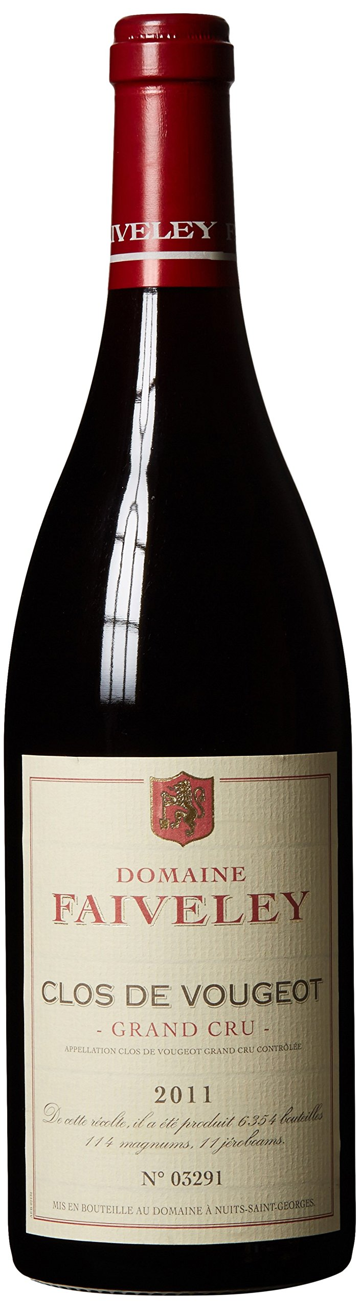 2011 Joseph Faiveley - Clos de Vougeot Grand Cru Burgundy 750 mL by Joseph Faiveley