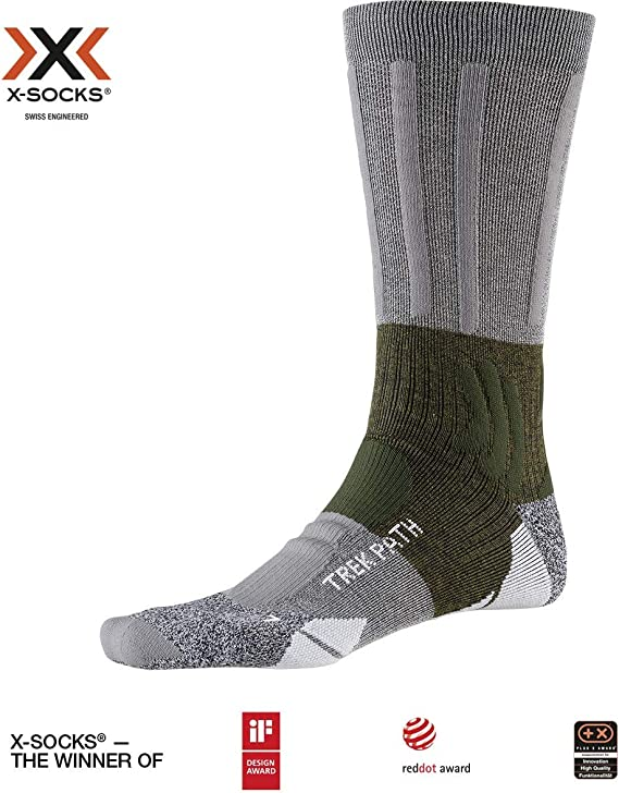 Unisex Adulto X-Socks Trek Dual Socks