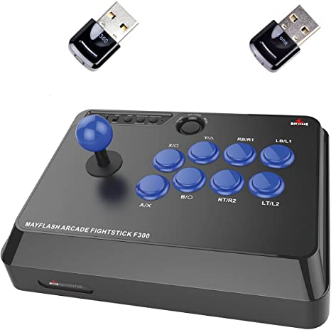 Mayflash F300 Arcade Fightstick And Magicboots Bundle For Xbox 360 Xbox One Computers Accessories