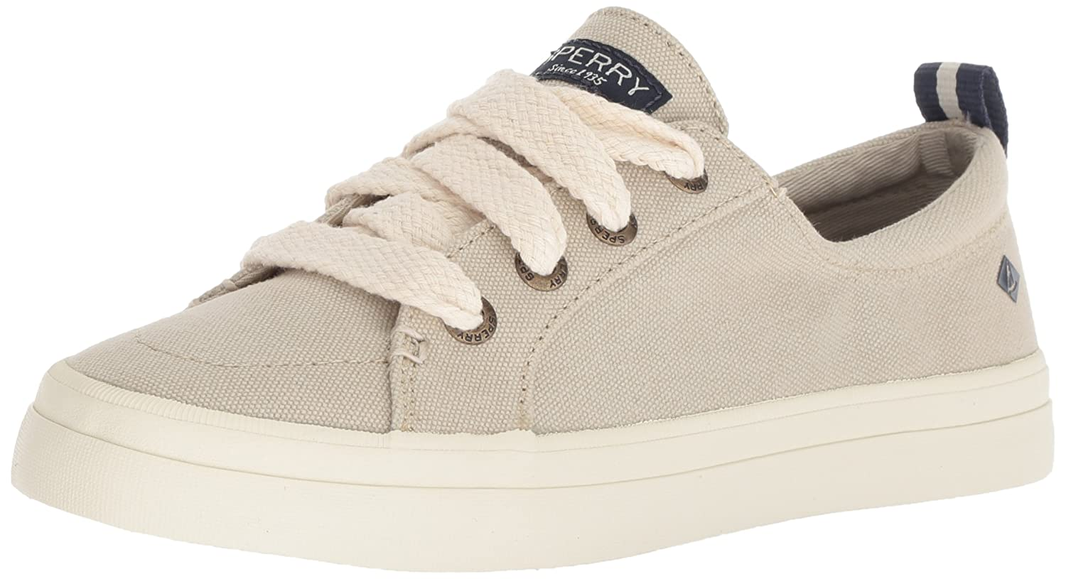 Sperry Top-Sider Women's Crest Vibe Chubby Lace Sneaker B078SGM4YV 11 M US|Ivory