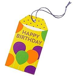 Birthday Balloons Gift Tag link image