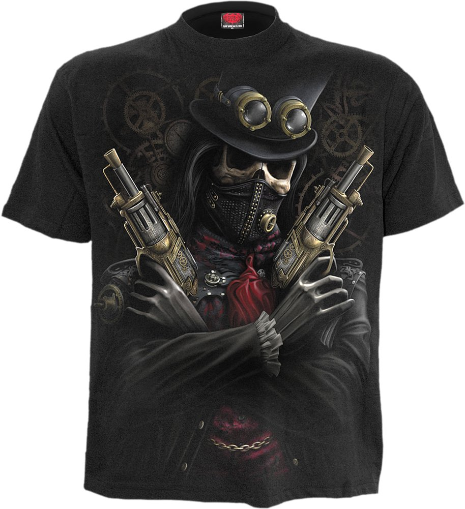 Spiral Boys - Steam Punk Bandit - Kids T-Shirt Black 3
