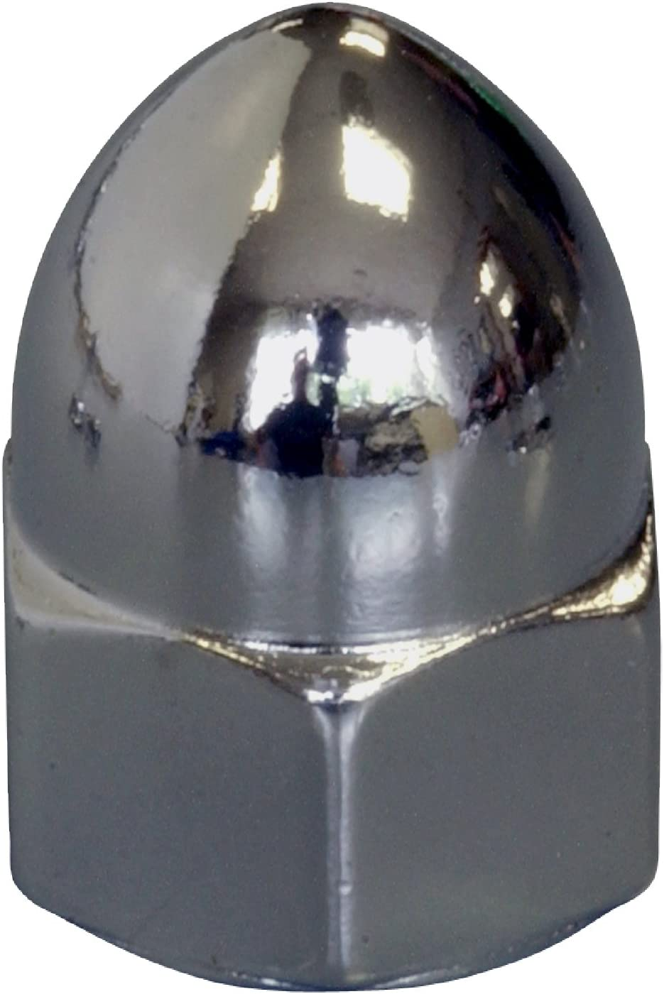 5//16-18-Inch The Hillman Group 943114 Chrome USS Acorn Nut 3-Pack