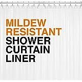 Mildew Resistant PEVA Shower Curtain Liner...