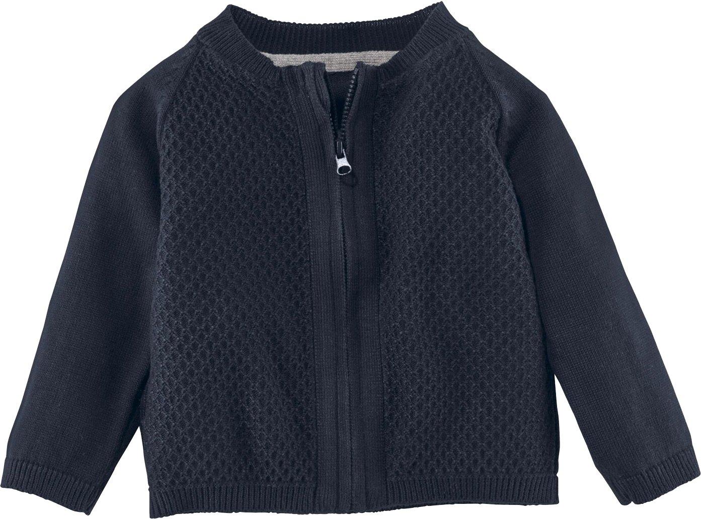 LUPILU® Baby Jungen Strickjacke aus 100% Bio-Baumwolle