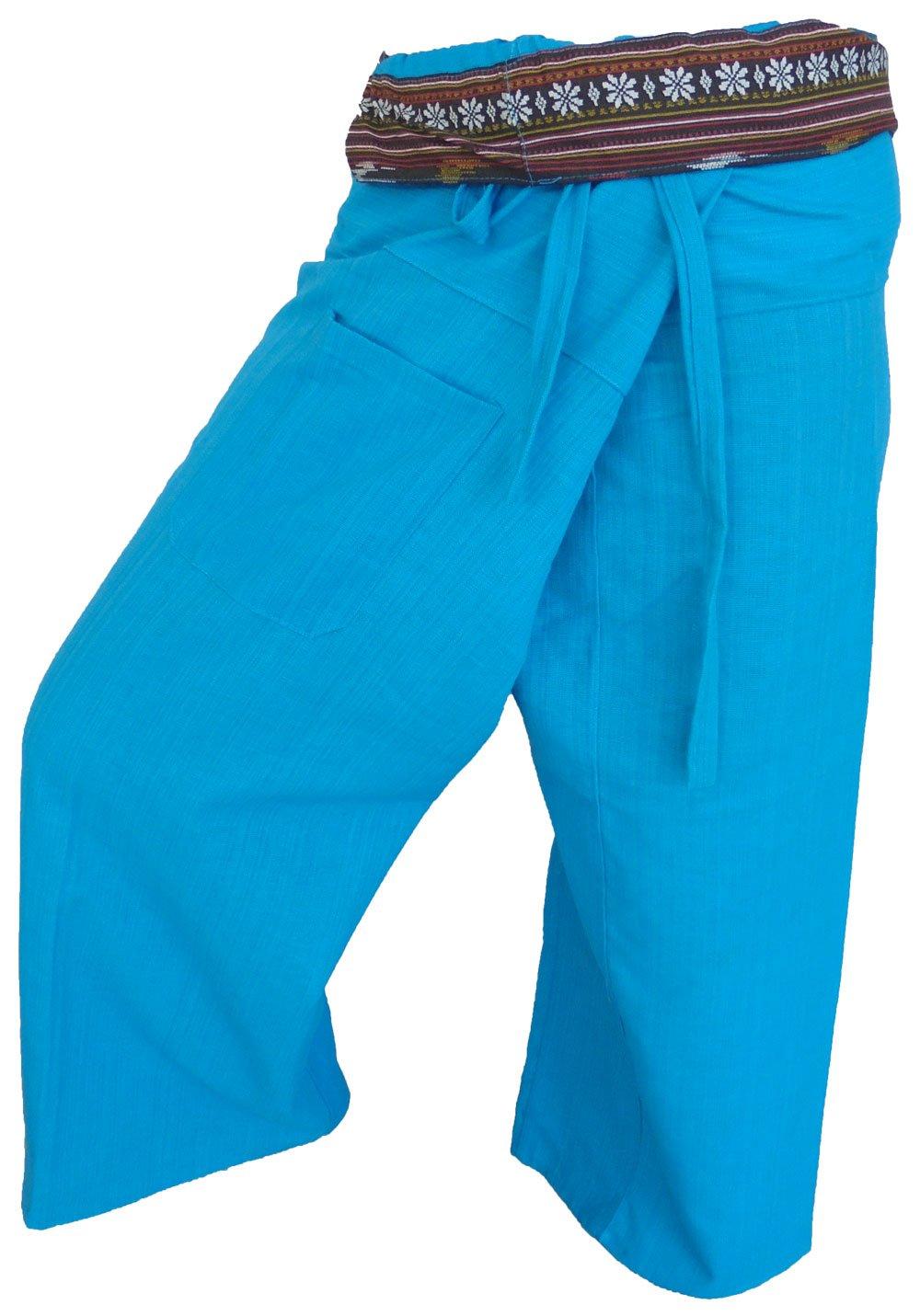 by soljo Fisherman Pantaloni Avvolgere Yoga Sport Fisherpant Cotone Thailandia Asia 16 Colori