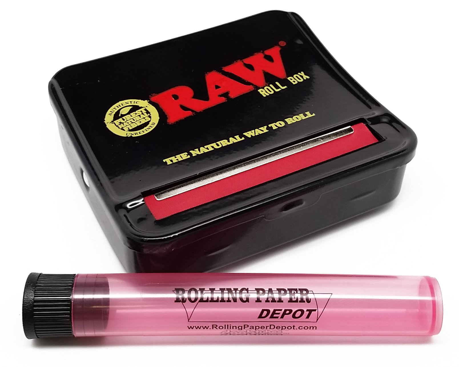RAW 70mm Automatic Cigarette Rolling Box with RPD Doobtube