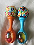 Colorful , easy to hold rattle for babies