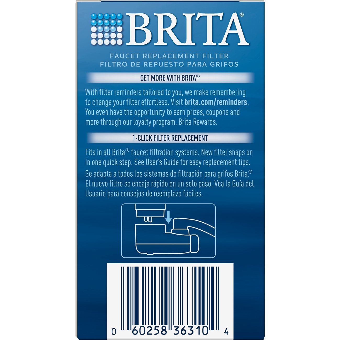 Amazon.com: Brita On Tap Water Filtration System Replacement Filters ...