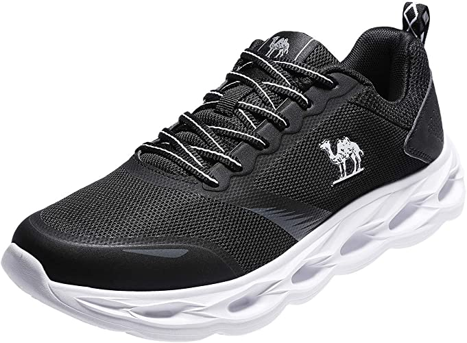 Schuhe Turnschuhe Sportschuhe Freizeitschuhe Leder Schwarz Blau