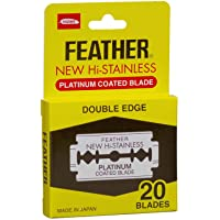 Navaja Feather Doble Filo 20 Piezas