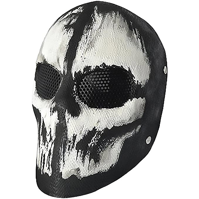 Evike R-Custom Fiberglass Wire Mesh Ghost C Airsoft Mask - (46454)
