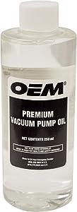 OEMTOOLS 24399 Vacuum Pump Oil 8 Oz