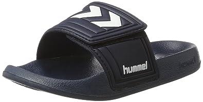 Hummel SPORT SLIPPER infradito da unisex adulto Blu Blau Dress t1V