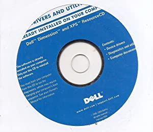DELL Drivers and Utilities: Dell Dimension and XPS ResourceCD
