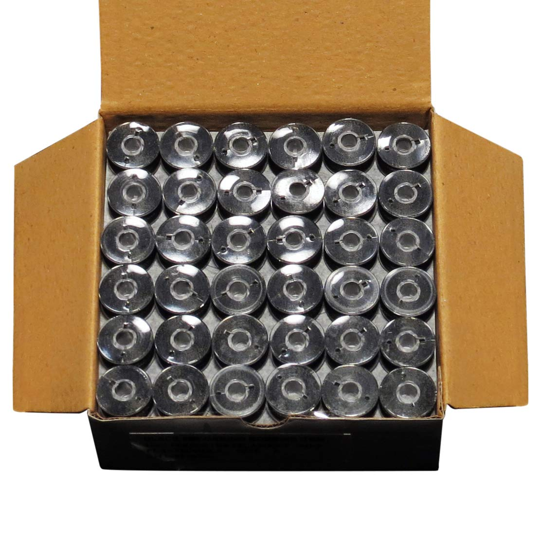 ThreadNanny New 144 Class A BLACK Pre-Wound Bobbins for BROTHER Embroidery Machines Compatible with SE 270D, SE 400, SE350, PE-700, PE700II, PE-750D, PE-770 by ThreadNanny