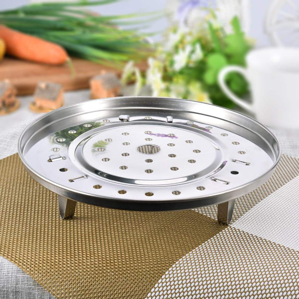 pretty-H Steam Rack per Instant Pot, pentola a Vapore scaffale da Cucina Vapore cremagliera Basamento del Supporto Alimentare per pentola a Pressione 6 Dimensioni, A, A 20cm