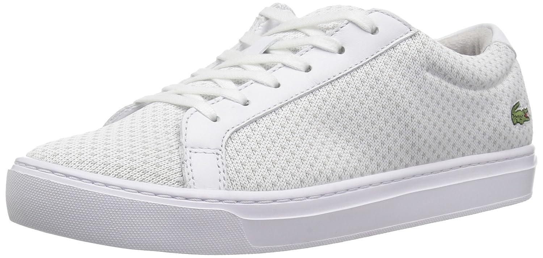 Lacoste Women's L.12.12 LIGHTWEIGHT1181CAW Sneaker B072VCNVQR 6.5 B(M) US|Wht/Ltgry