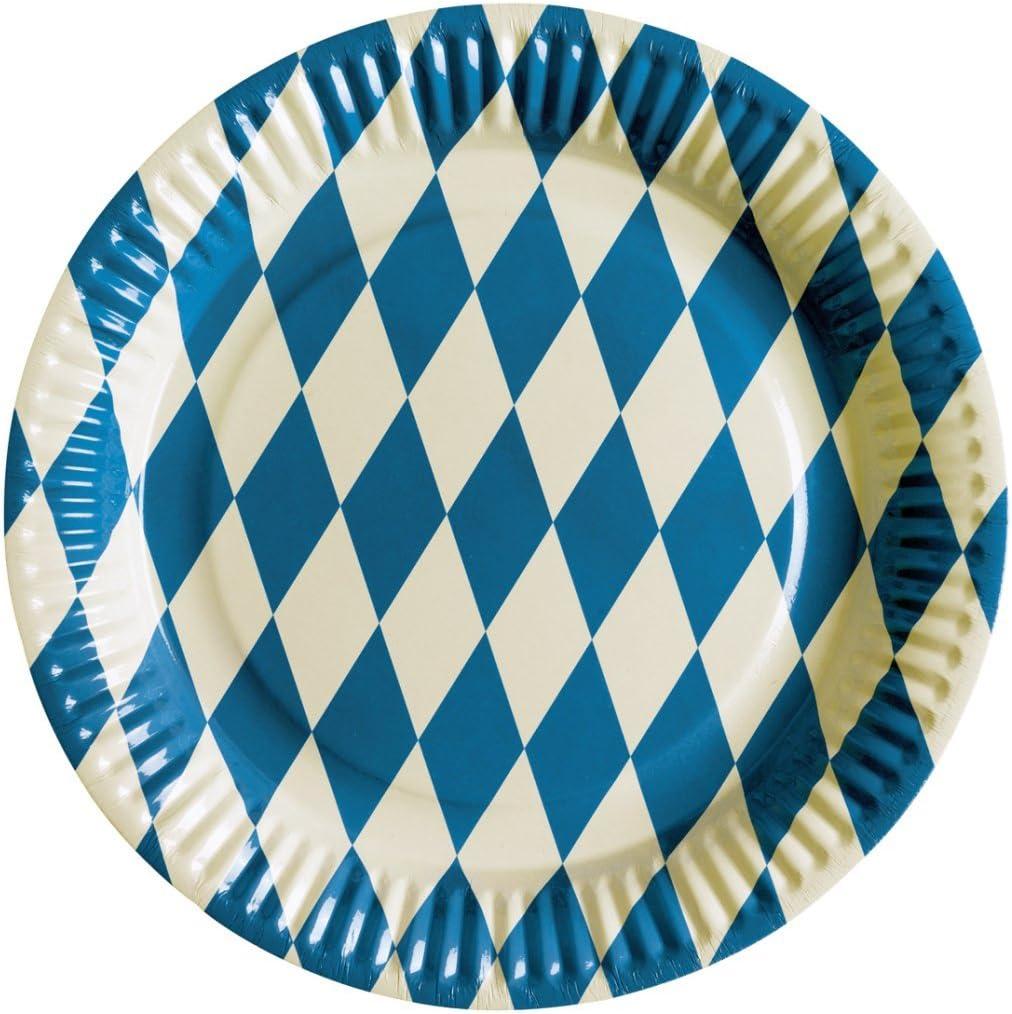 NET TOYS Drapeau Oktoberfest Fanion Bavarois d/écoration de soir/ée /à th/ème Ambiance d/éco f/ête de la bi/ère Bavi/ère