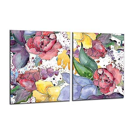 Compra decorwelt | para Cubrir la vitrocerámica Flores Cubiertas ...