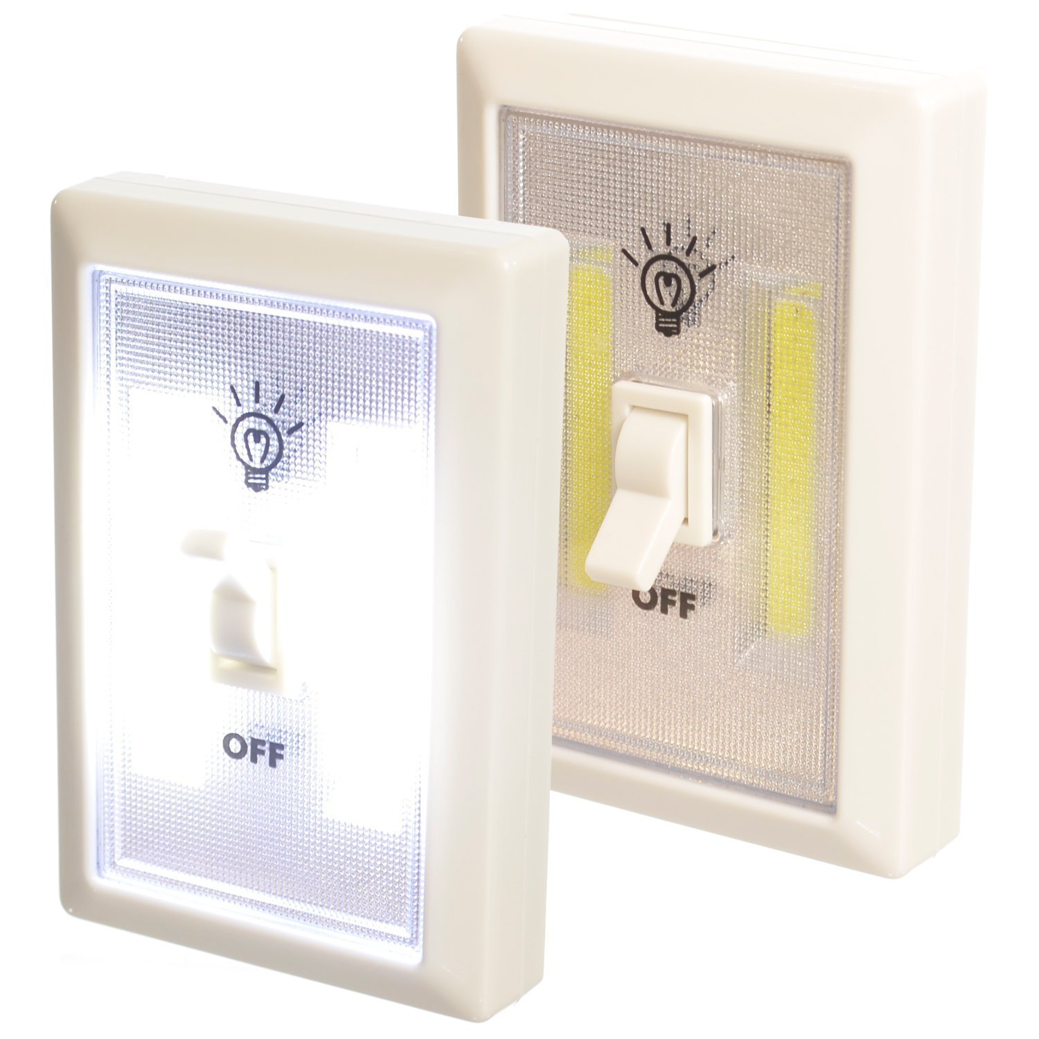 Promier LIGHT SWITCH Battery Operated Cordless Light Using Super Bright COB  LED Technology For Baby