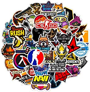 Counter-Strike Shooting Game Laptop Stickers Funny Computer Stickers for Boys Friends MacBook Skateboard Kayboard Motorcycle Helmet 50pcs