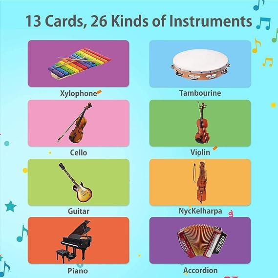 Joyjoz Alfombra de Piano con 25 Sonidos, Alfombra Musical de Teclado para Bebé, Alfombra Piano de Animales para Niños Niñas de 1 a 5 Años (100*36cm)