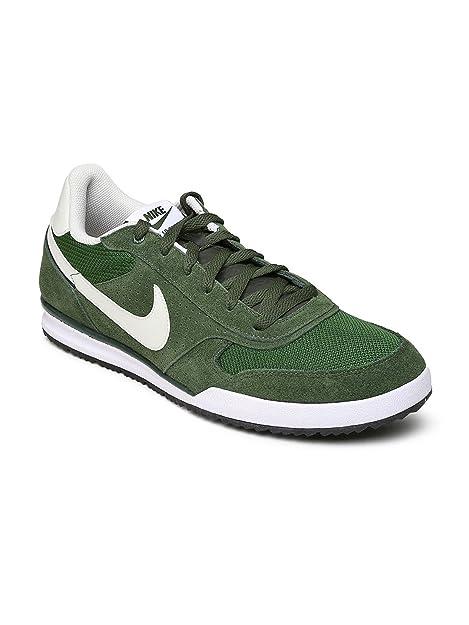 Buy Nike Men Green Suede Field Trainer