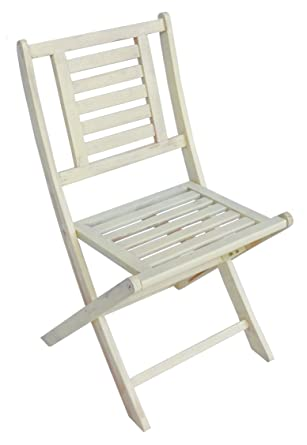 Zen Garden Wood Foldable Patio Bistro Chair, Set Of 2 Chairs, 20.5u0026quot; X