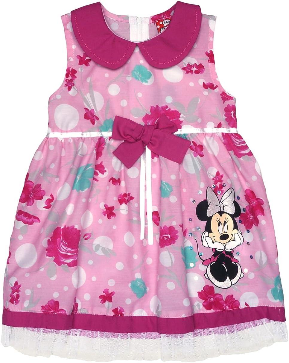 Disney Baby M/ädchen Minnie Mouse FEST-Kleid T/üll-Rock Sommerkleid mit Bubikragen in Gr 74 80 86 92 98 104 110 116 122 Baumwolle Bluemnm/ädchen Outfit Farbe Pink