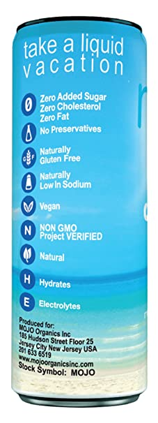 Pure Coconut Water 12 Pack Non Gmo Project Verified 111 Oz Each