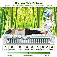 LV Life King Size Bamboo Fibre Mattress