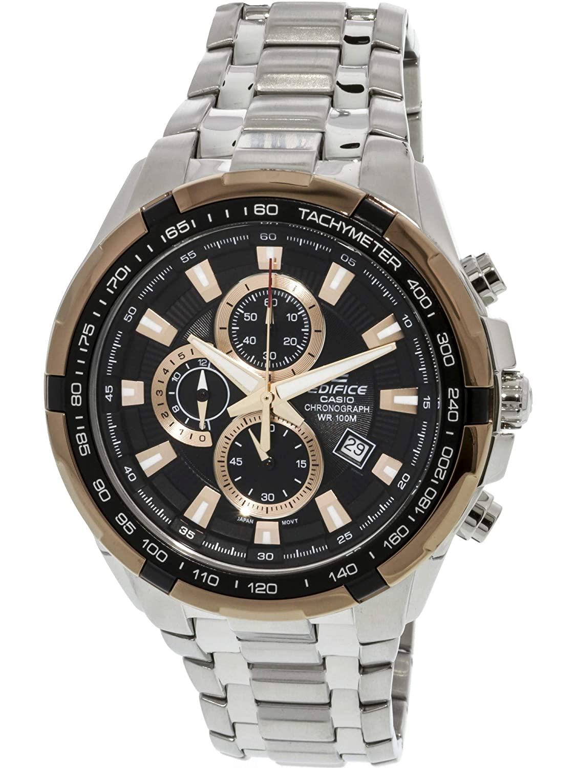 86f1e9edcab4 Amazon.com  Casio General Men s Watches Edifice Chronograph EF-539D-1A5VDF  - WW  Casio  Watches