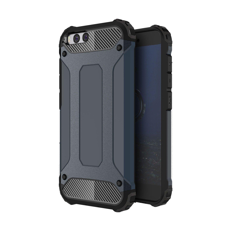 pinlu Funda Para Xiaomi Redmi Note 3 Doble Capa H/íbrida Armadura Silicona TPU PC Case Duradero Protecci/ón Anti-Rasgu/ño Shock-Absorci/ón Dise/ño Plata