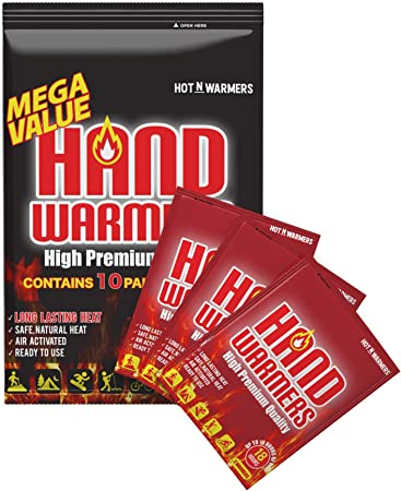 Little Hotties Keep Hands Warm for up to 8Hrs Insert in Ski glove Hand Warmers
