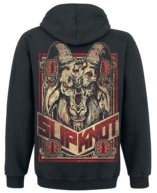 Slipknot Furious Goat Sudadera capucha con cremallera Negro XL: Amazon.es:  Ropa y accesorios