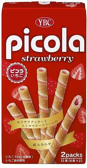 Yamazaki galletas de fresa Pikora seis cajas X2PX10