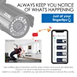 ZOSI 8-Channel HD-TVI 1080N/720P Video Security