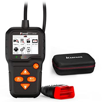 Vehicle Code Reader >> Karfans K120 Universal Obd 2 Scanner With Car Battery Monitor Vehicle Code Reader Monitor Emission Control Systems Quick Check Car Trouble Codes