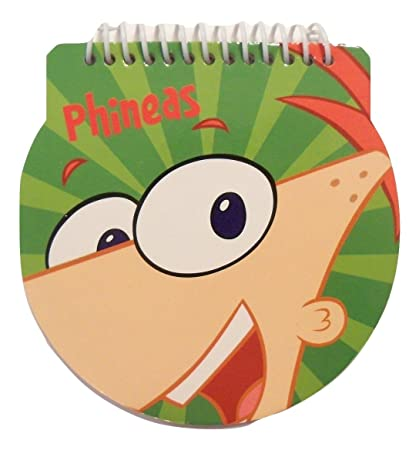 Phineas And Ferb Memo Pad 5quot X 48 Sheets