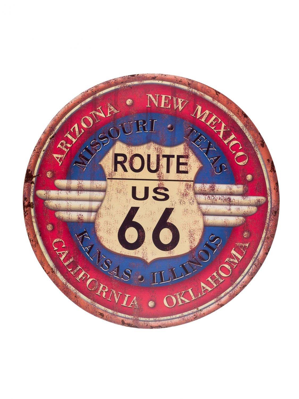 Cartel de Chapa de Pared Muestra de la Ruta 66 de Arizona el ...
