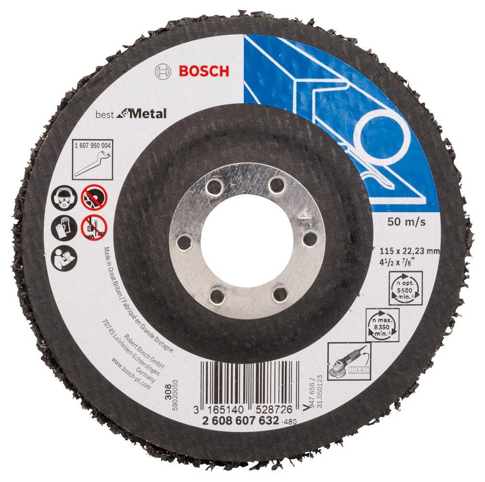 Bosch Professional Reinigungsscheibe N377  Best for Metal 125mm, 1 Stk.