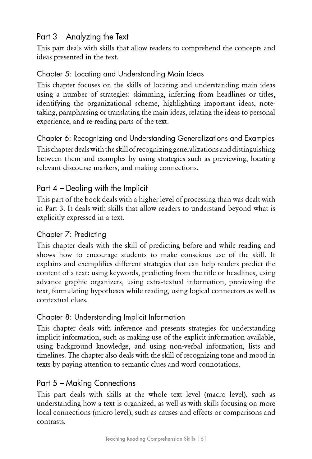 Teaching Reading Comprehension Skills in ESL/EFL: Amazon com: Books