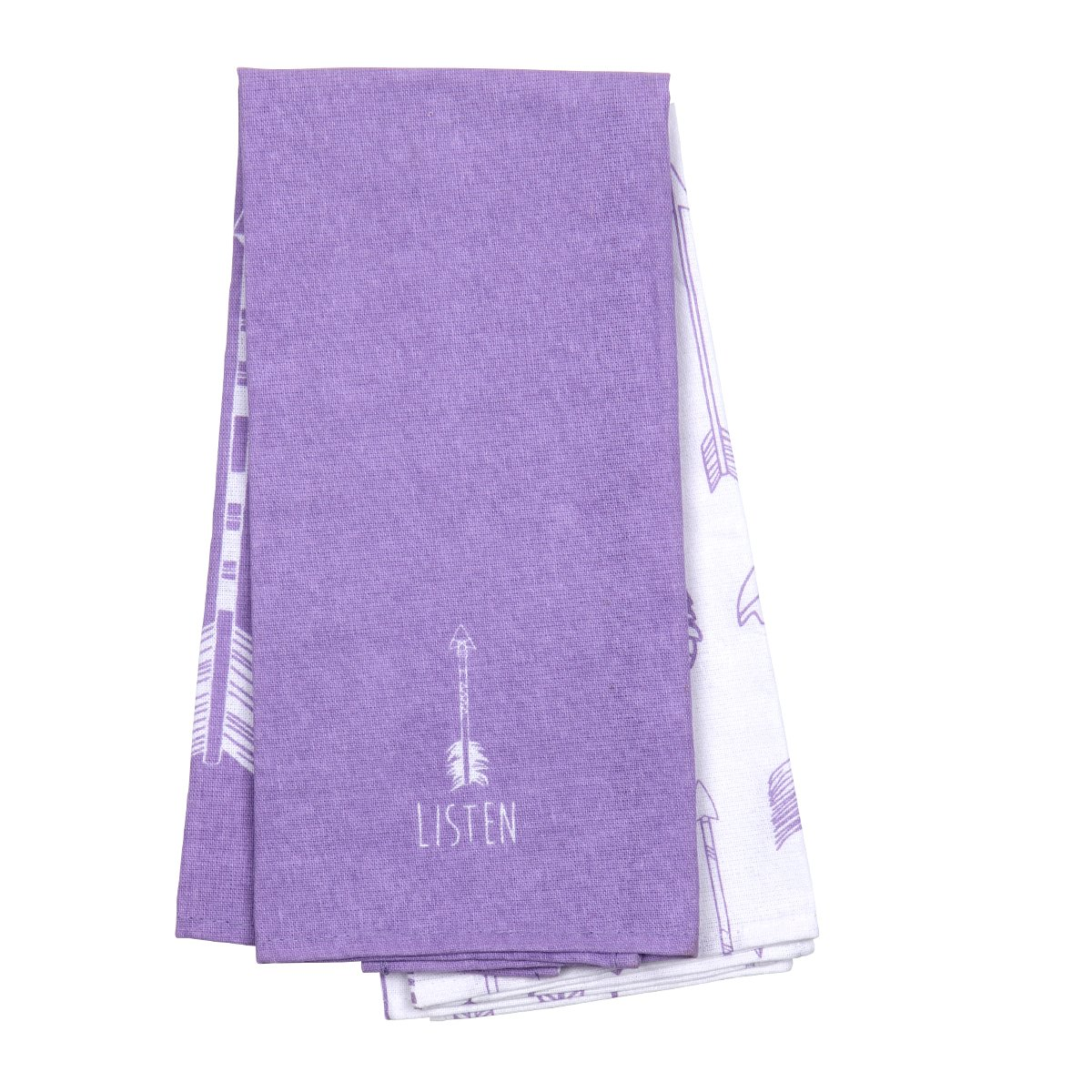 Karma Gifts Tea Towels (Set of 2), Arrows by Karma Gifts (Image #1)